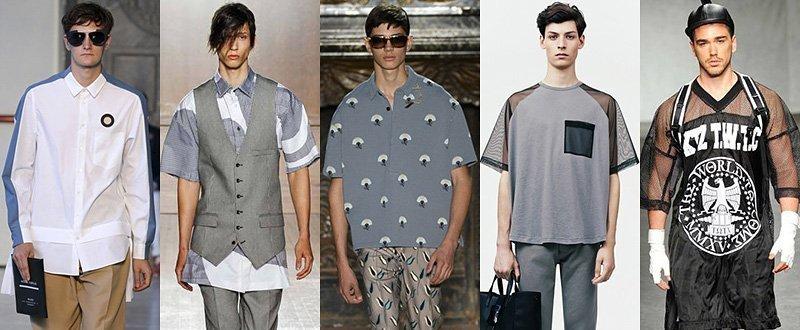 Стильная уличная мода на лето 2018-2019 года для парней и мужчин в рубашках