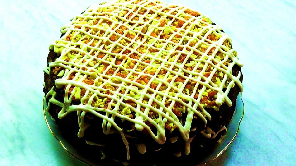 Печеночный торт без муки