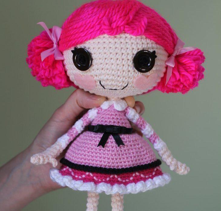 Кукла лалалупси схема вязания 34