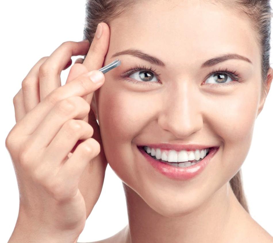 Как сделать лицо круглее с помощью бровей