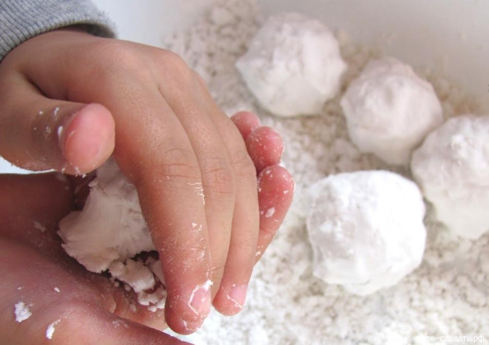 Лёгкий снег своими руками 342