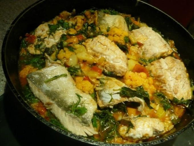 Рецепт горбуши с рисом в духовке в фольге