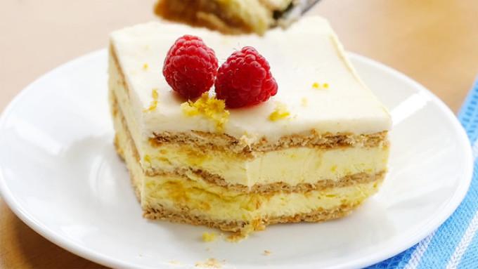 Торта со сметаной и бананом