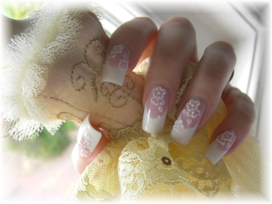 Свадебные дизайны ногтей ши лаком
