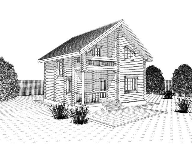 Дом своей мечты рисунок карандашом 168
