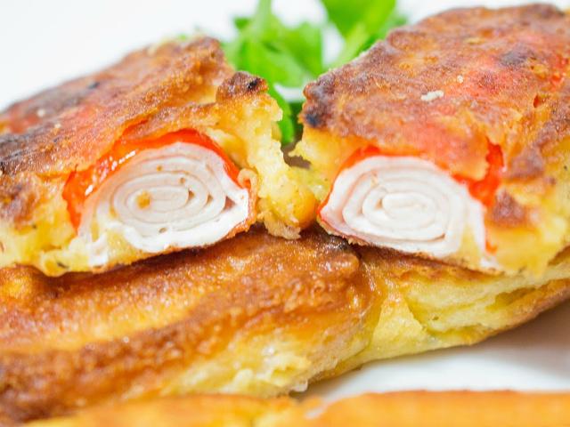 крабовые палочки с чесноком и сыром в кляре рецепт с фото пошагово