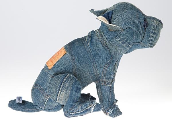 Игрушки из джинсовых лоскутков своими руками