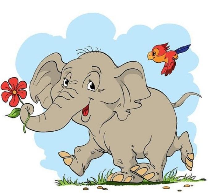 картинки для детей слона