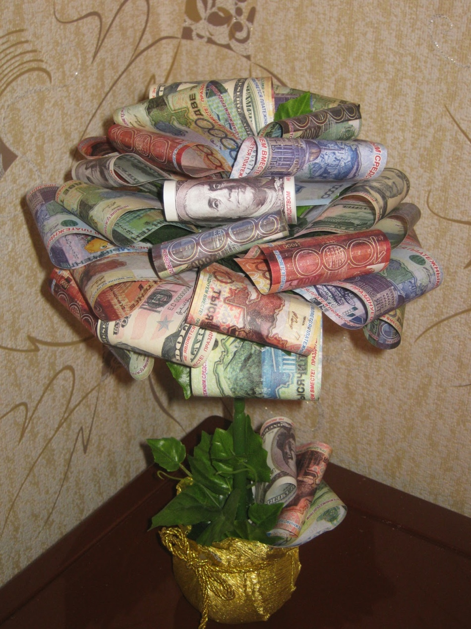 инструкция для изготовления денежного дерева