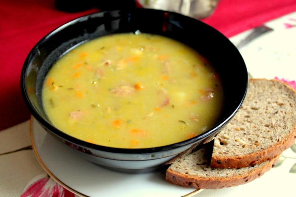 Как приготовить гороховый суп с в мультиварке поларис