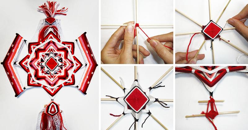 Мандала плетение схемы