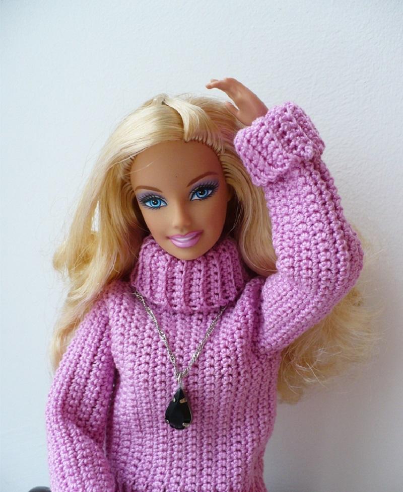 Свитер для кукол своими руками