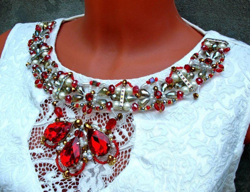 Как украсить платье бисером своими руками фото 4