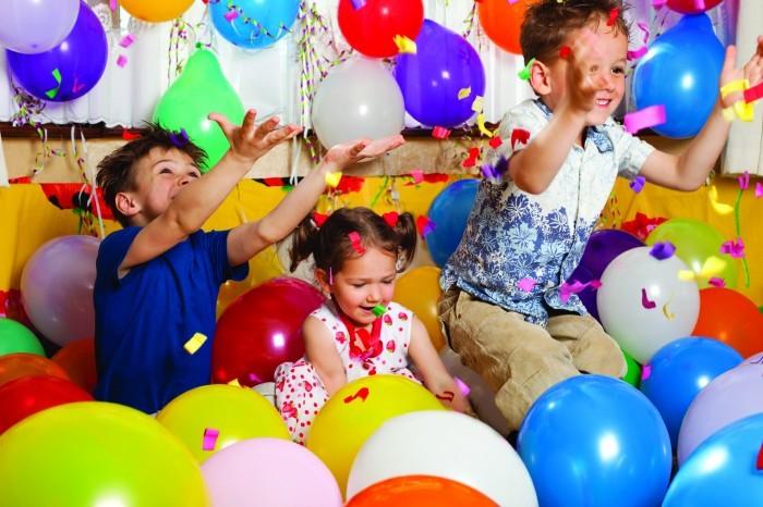 Конкурс с шарами на день рождения ребенка