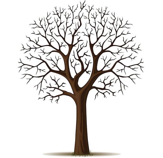 Шаблон дерево пожеланий своими руками шаблоны