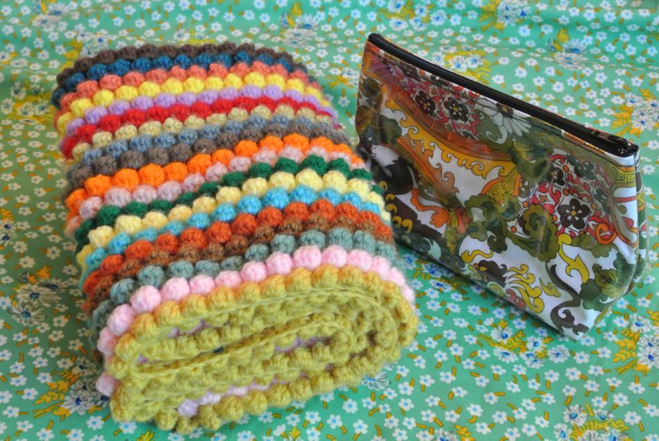 Пряжи для вязания пледов крючком 355