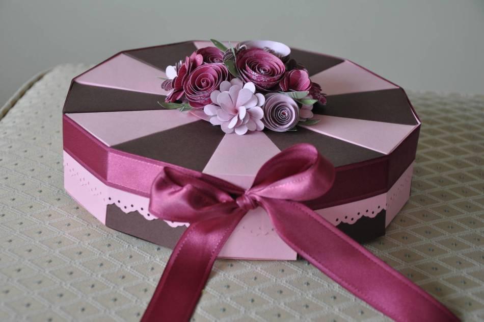 Подарок тортик своими руками