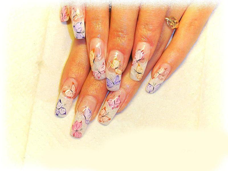 Смотреть рисунки ногтей гелем