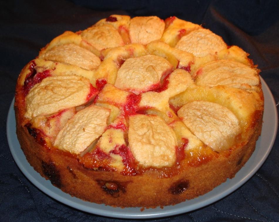 Шарлотка с яблоками рецепт с пошагово в аэрогриле