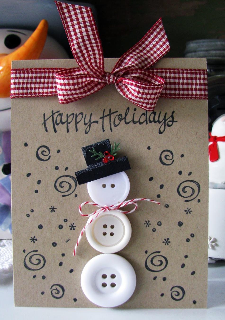 Новогодние открытки - скрапбукинг своими руками: мастер класс. Новогодний скрапбукинг: идеи, шаблоны, надписи, текст