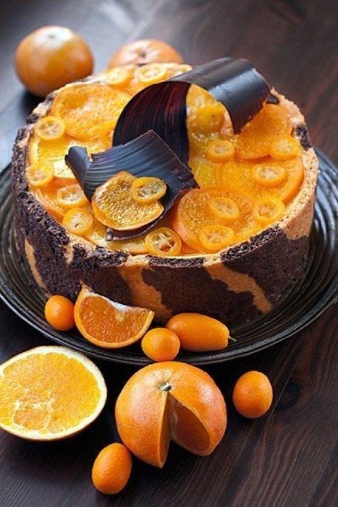 Пирог из мандаринов рецепт с в духовке 83