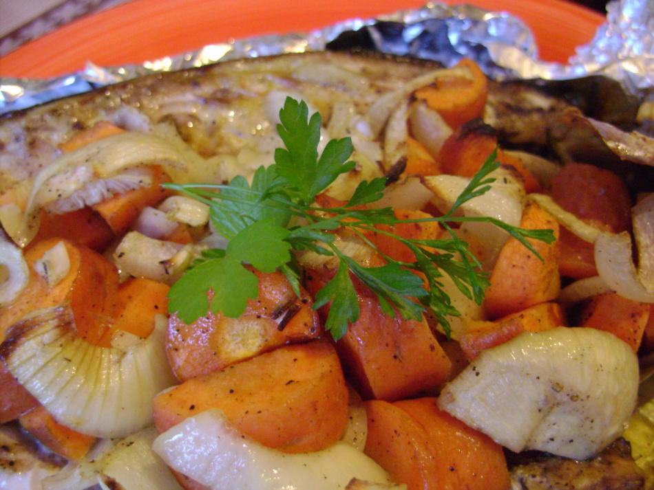 филе скумбрии в духовке рецепт с фото