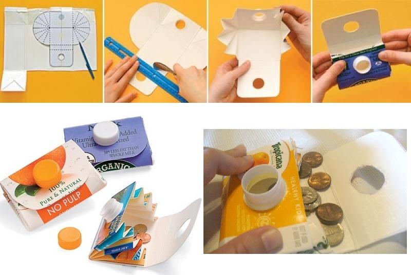 Как сделать кошелёк из бумаги своими руками для монет