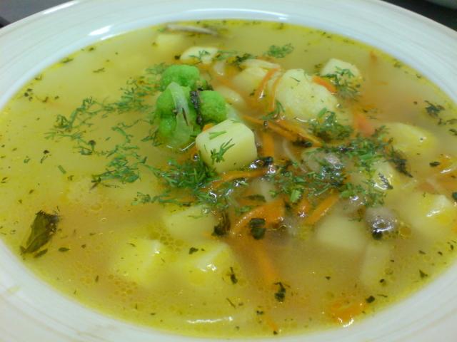 супы овощные диетические рецепты с фото простые и вкусные