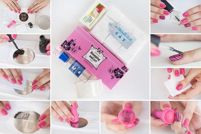 Роспись ногтей пошаговая инструкция