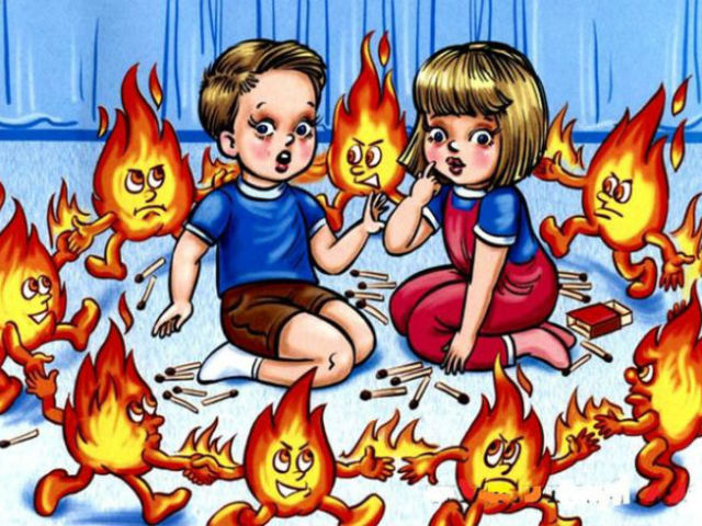картинки про пожарных детские