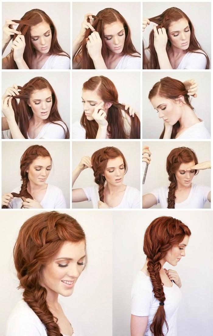 Прически на длинные волосы под длинное платье