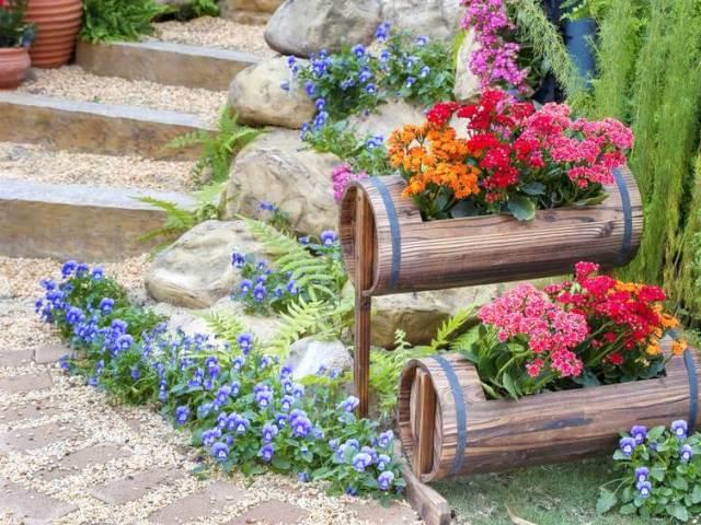 Идеи для сада своими руками ТОП 10 поделок (50 фото) 92