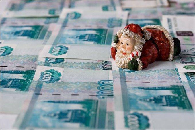 Примета с деньгами в новый год