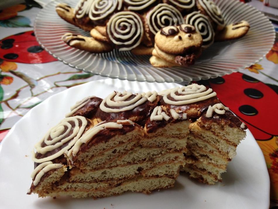 Торт с сметанным кремом пошаговый рецепт с 187