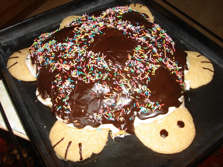 торт черепаха рецепт с фото домашний видео