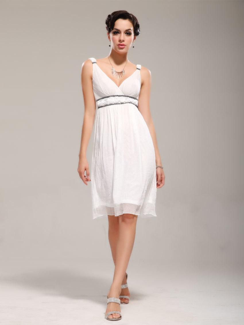 Простое платье в греческом стиле
