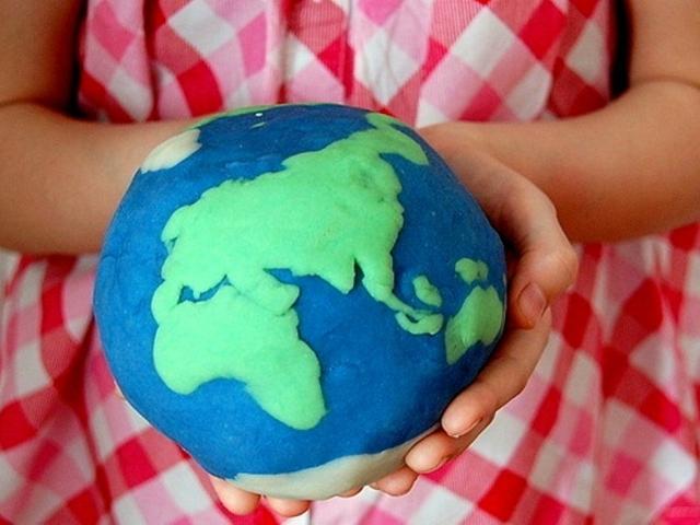 Модель земли 3
