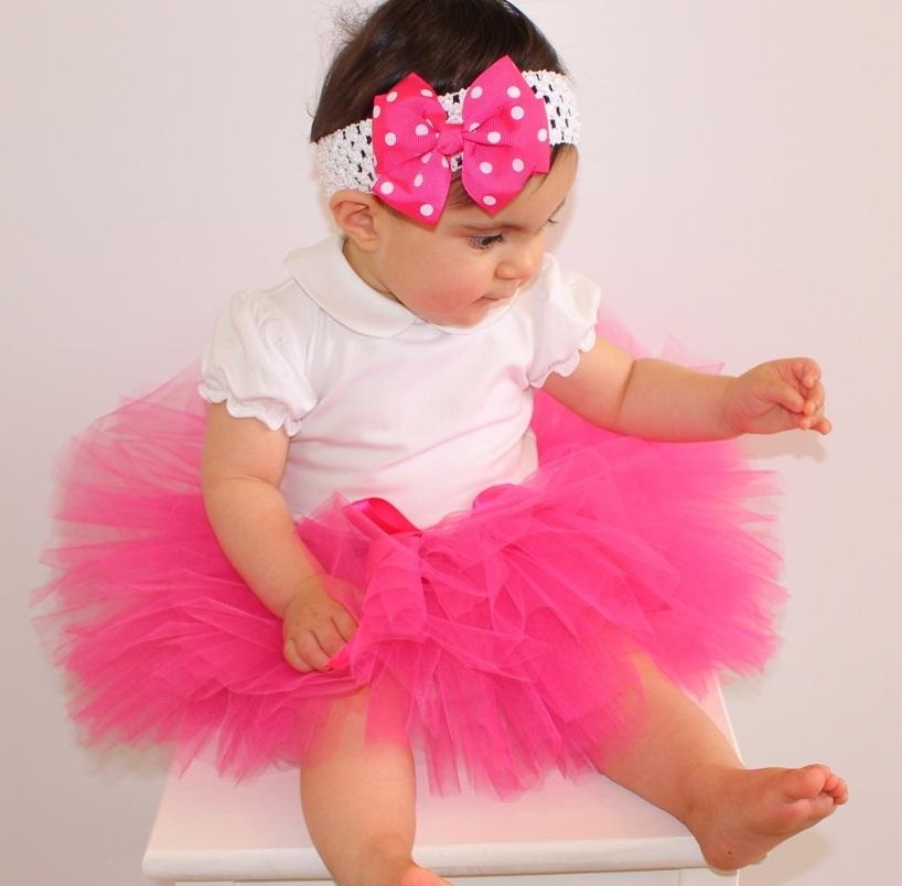 Юбки пачки для новорожденных