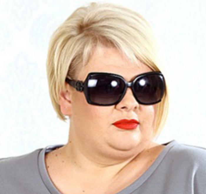 Причёски для толстого лица