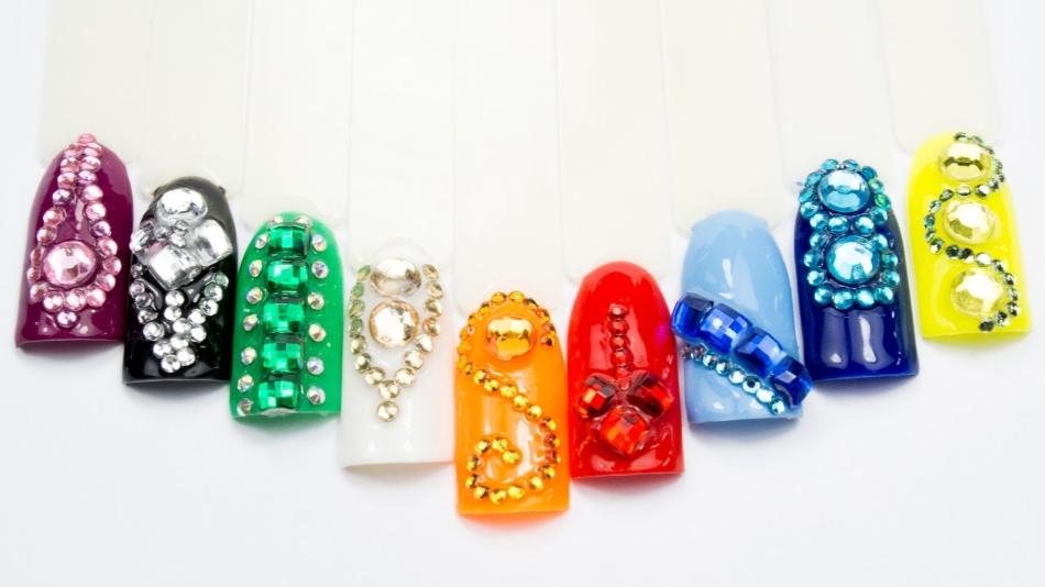 Жидкие камни для ногтей как сделать 39