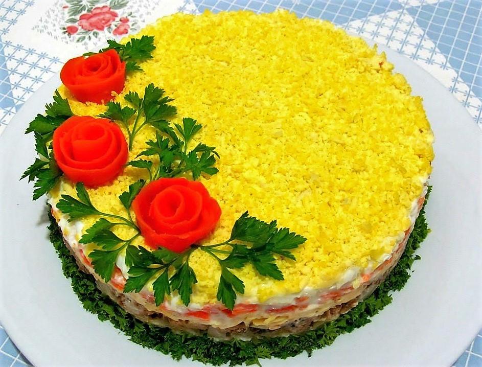 Праздничные салаты быстро готовить
