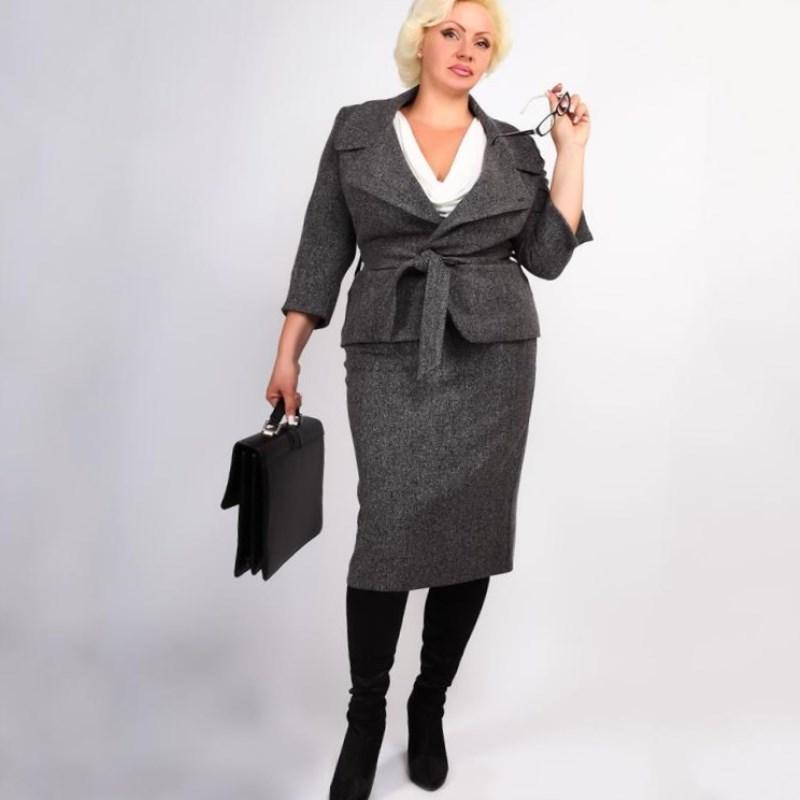Деловой Стиль Одежды Для Полных