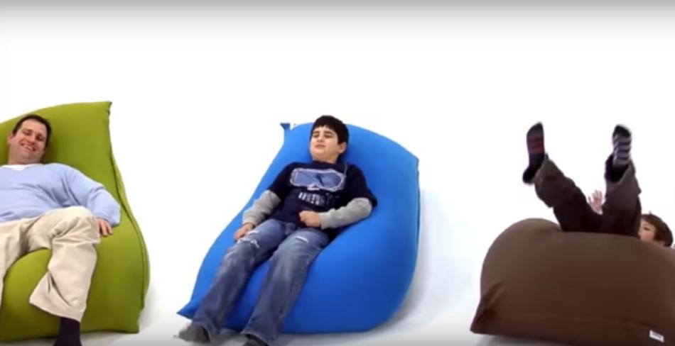 Кресла-мешки не всегда устойчивы