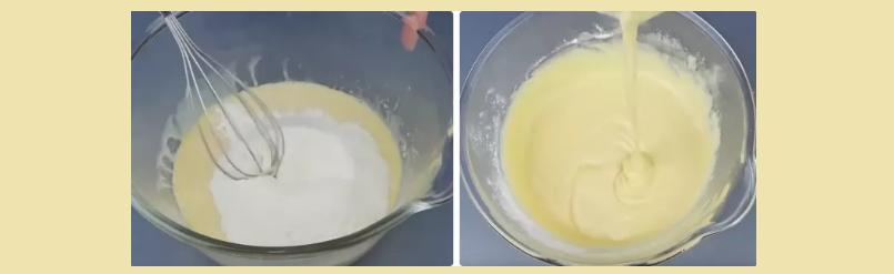 Бисквитное тесто для торта 2