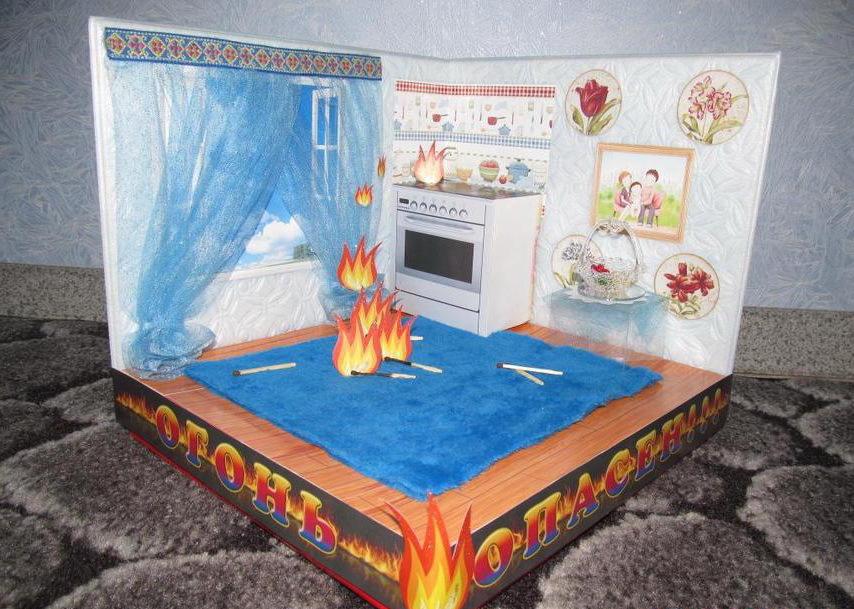 Ребенок и пожарная безопасность поделки 365