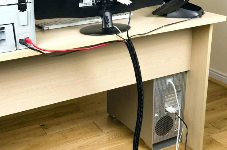 Так можно красиво спрятать провода