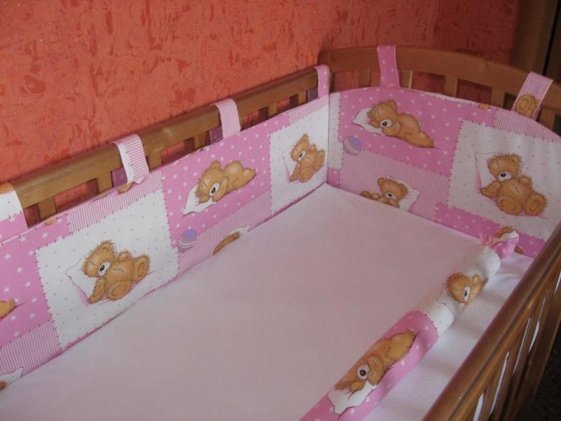 Бортики в кровать своими руками