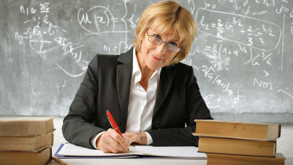 Учительница математики