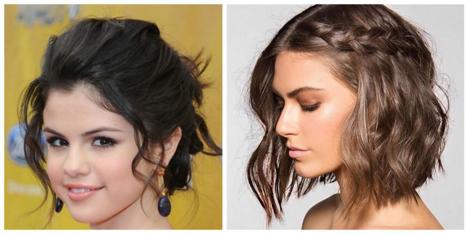 Причёски на длинные волосы на каждый день круглое лицо