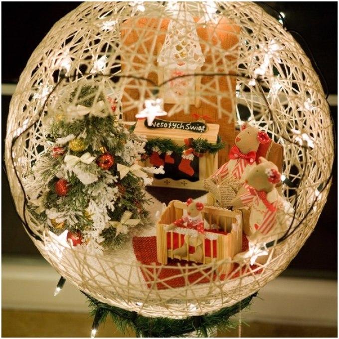 Как сделать новогодние игрушки из бумаги, салфеток, воздушных шаров и ниток, шишек и конфет? Новогодние игрушки из бумаги, карто